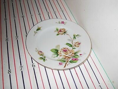 LYNMORE GOLDEN ROSE BREAD PLATE