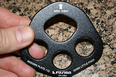 Aluminum Bearpaw Rigging plate Little Foot free shipping