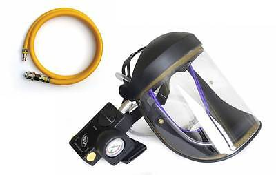 CRUSADER lite AIR FED VISOR, Airfed Paint Spray Mask