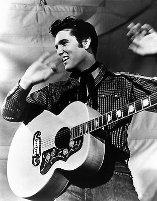 Elvis Presley *rare* Concert Movie 8X10 Photo Young Wow