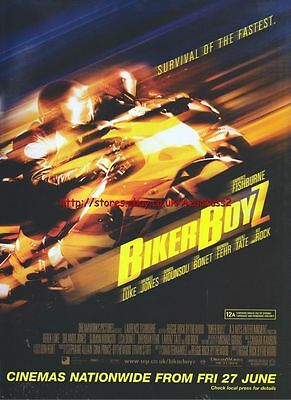 Biker Boyz Cinema 2003 Magazine Advert #602