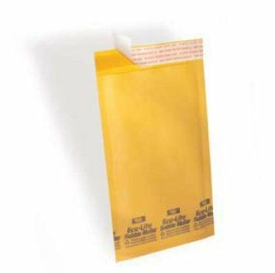 #00 2,000 5x10 Kraft Ecolite Bubble Mailers Padded Envelopes Bags 5 x 10