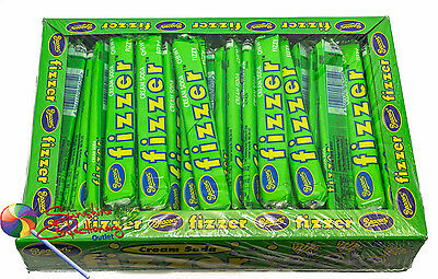 FIZZERS CREAMING SODA LOLLY - Beacon - 72 pieces Green Fizzer Post Included