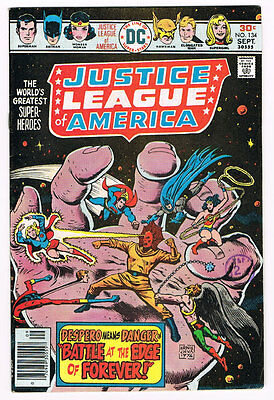 Justice League Of America # 134 The Battle at the Edge of Forever! Despero!