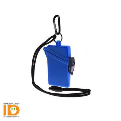 Witz Surf Safe Blue Waterproof ID Badge Holder 00102
