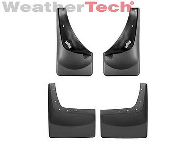 WeatherTech No-Drill MudFlaps - Ford Super Duty - 2001-2007 - Front & Rear Set