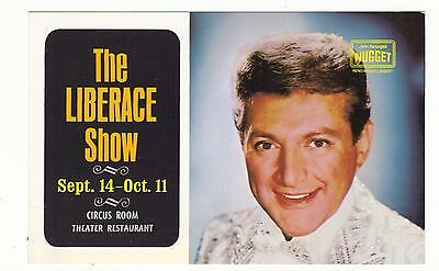 The Liberace Show,Circus Room Theater Restaurant,Nugget Casino-Reno,Nv