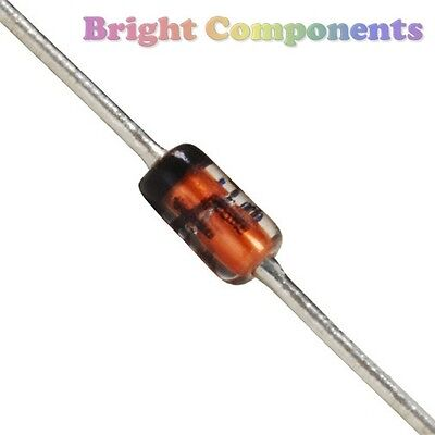 25 x BZX55-C5V1 Zener Diode - 5.1V - 0.5W - DO35 - 1st CLASS POST