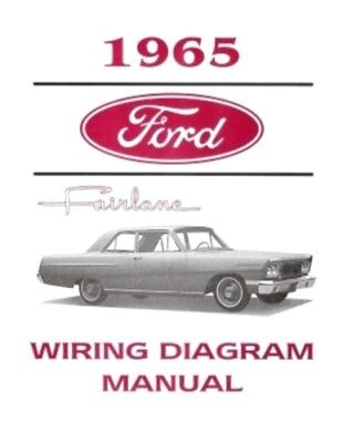FORD 1965 Fairlane Wiring Diagram Manual 65