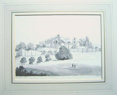 British  Kenilworth Castle Warwicks James 1826