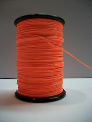 Flo/Fluorescent Orange BCY 3D Archery Bow String Serving