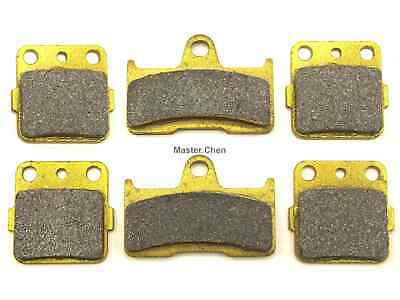 Front Rear Brake Pads Fit Yamaha YFM660 Grizzly YFM 660 Brakes 2004 2005 2006