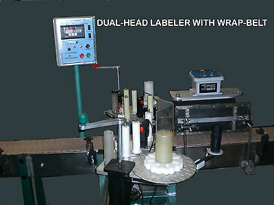 PRESSURE SENSITIVE Labeling Machine FRONT &  BACK & WRAP or select type