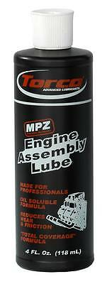 Torco MPZ Engine Assembly Lube 4oz bottle