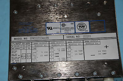 660-060191-001 Lam Research Power Supply SPM-5