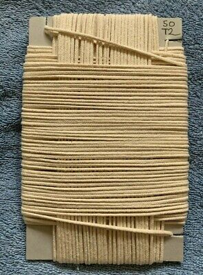"50 Metre Cotton Braided Candle Wick - for 1.3/4"" to 2"" (43mm-50mm) (MBC-2)"