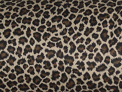 NW custom TABLE RUNNER VALANCE WILD skin animal LEOPARD