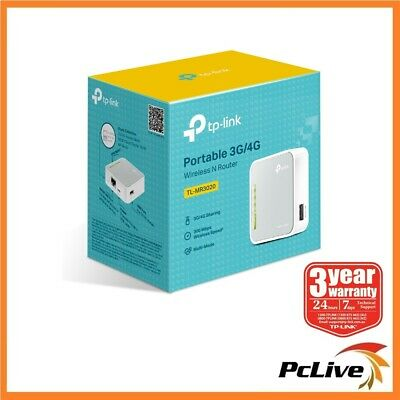 NEW TP-Link TL-MR3020 Wireless N 150Mbps Portable 3G 4G Router WIFI USB
