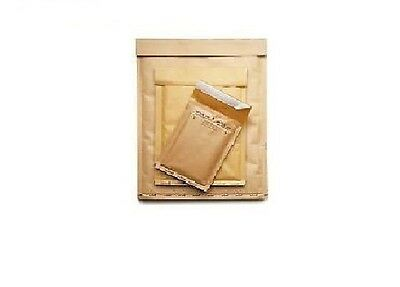 100 BUSTE POSTA IMBOTTITE BOLLE  MAIL LITE GOLD A/000 110 x 160