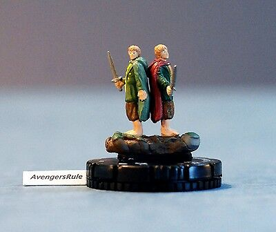 LOTR Lord of the Rings Heroclix 022 Pippin and Merry Chase Avengersrule2002