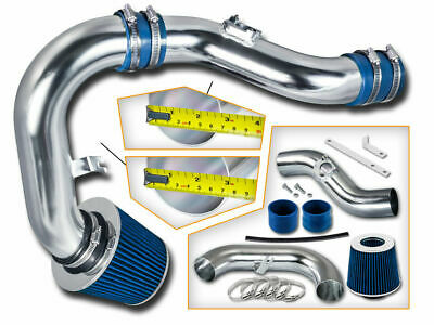 """3"""" BLUE Cold Air Intake Induction Kit + Filter For 02-06 WRX/STi 2.0L/2.5L Turbo"""