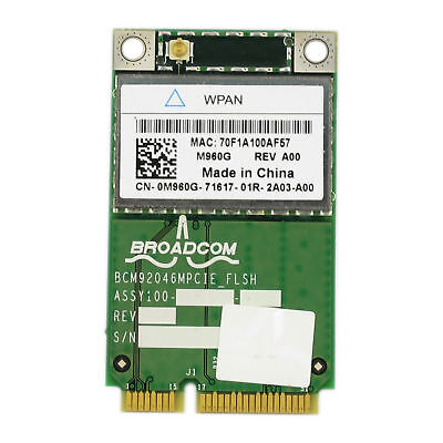 For Dell Wireless 370 Bluetooth Card Module 0P560G M6400 E6500 E5500 P560G PW876