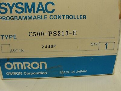 New Omron Power Supply, C500-PS213-E
