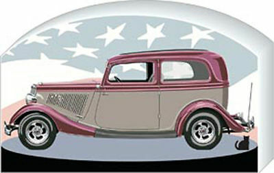 Cat's Meow Village American 193  Hot Rod Vicky Car NEW #09-211 *SHIP DISCOUNTS*
