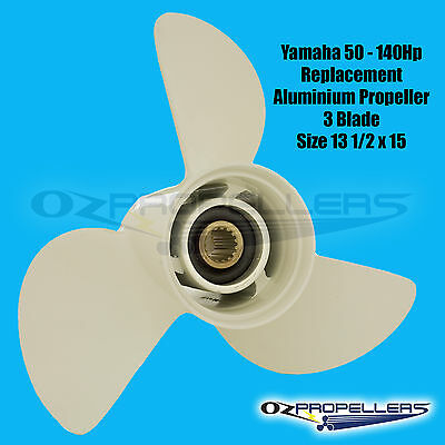 PROP PROPELLER NEW TO SUIT YAMAHA 50-140HP  (13 1/2 x 15 K )