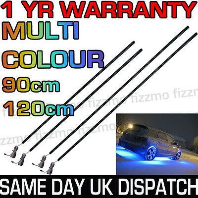LED UnderCar Under Car Lighting Light Neon Remote Multi Colour RGB 90cm 120cm