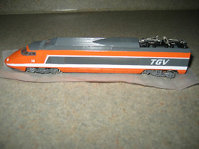 BACHMANN TGV DUMMY CAR N SCALE IN EXCELLENT CONDITION N SCALE
