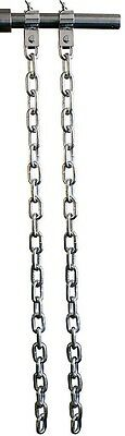 Ader Fitness Zinc Weight Lifting Chain Set- 30 Lb Pair w/ Zinc Collars