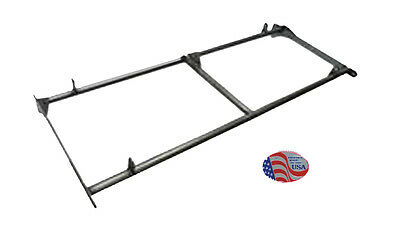 Yamaha Rhino Seat Base For Mounting Rear Bench Utv Seat Powder Coat Black
