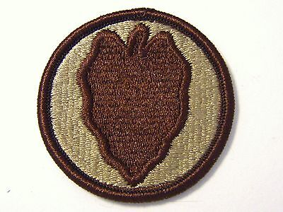 24th INFANTRY DIVISION PATCH SSI U.S. ARMY - DESERT TAN COLOR:FA12-1