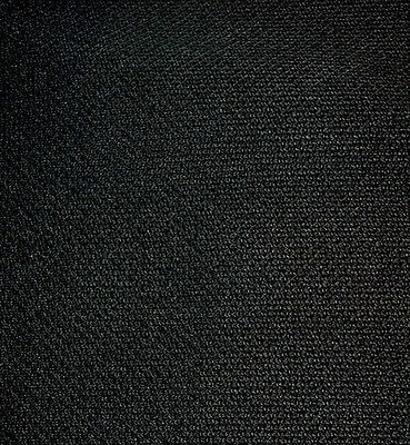 1500 mm. x 475 mm. BLACK LOUDSPEAKER  FABRIC CLOTH GRILLE FINE WEAVE