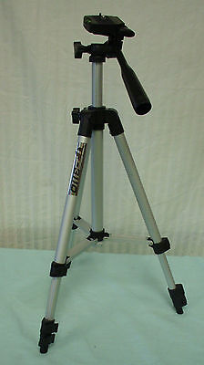 Aluminum Alloy 3 Section Leg Video Camcorder Camera Tripod Stand