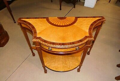 Mahogany, Maple & Rosewood Hall / Console Table