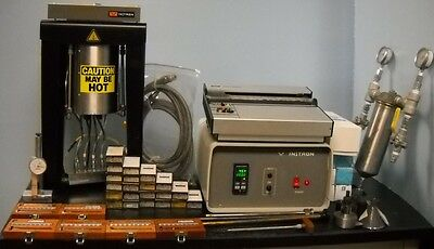 Instron Water Cooled 3213 Rheometer, Instron Model 3213 Frame W/ Accessories