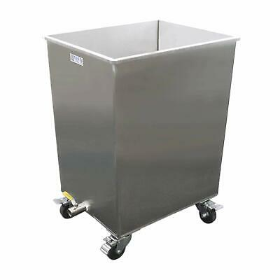Stainless Steel Restaurant Hood Grease Filter Soak Clean Tank with Lid, FF-TANK