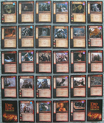 Lord of the Rings TCG Fellowship of the Ring Rare Cards Part 3/4 (LOTR FOTR CCG