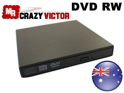 External USB DVD CD RW Disc Writer Burner Player Drive For Laptop PC Win 7/8/10