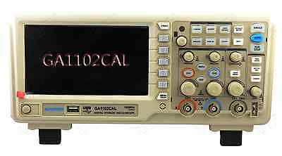 "GRATTEN Digital Oscilloscope GA1102CAL 100MHz 2CH 7"" LCD 1G Sa/s USB 9 languages"
