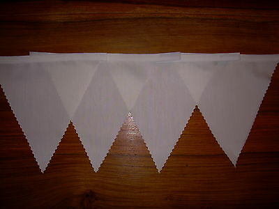 Ivory Fabric Bunting Wedding birthday Christenin Party Decoration 2 mt or more