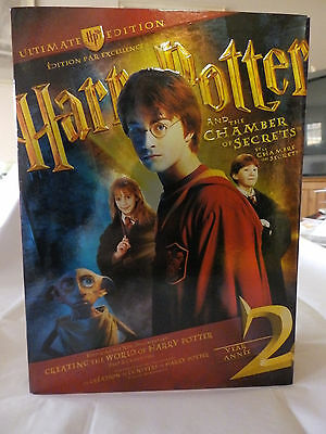 Harry Potter and the Chamber of Secrets (DVD, 2009, Ultimate Collector's Edition
