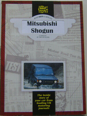 Mitsubishi Colt Shogun Road Tests & Articles 1983-94 pub. by TSB No. 401