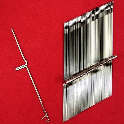 NEU 50 Nadeln für Brother Strickmaschinen KH552 - KH800 Knitting Machine Needles
