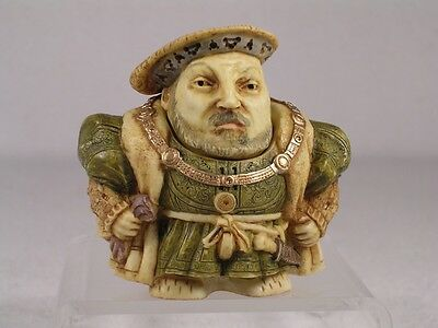 Harmony Kingdom Ball Pot Bellys / Belly 'King Henry VIII'  #PBHH8  New In Box