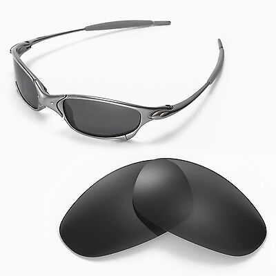 New Walleva Polarized Black Lenses For Oakley Juliet