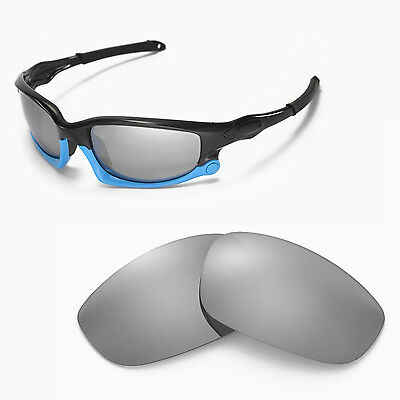 New Walleva Polarized Titanium Lenses For Oakley Split Jacket