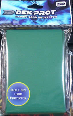 Yugioh/Vanguard Sized Deck Prot Ivy Green Card Protectors Sleeves 50ct